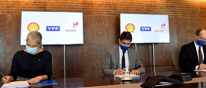 YPF suma a Shell como socio para exploraciones off shore